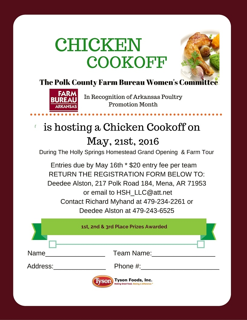 Chicken Cook off