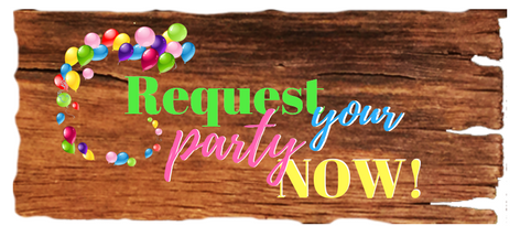 BDay Party Request Website Button