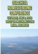 Ouachita Homestead Conference